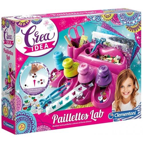 Clementoni Crea Idea-Paillettes Lab 15221