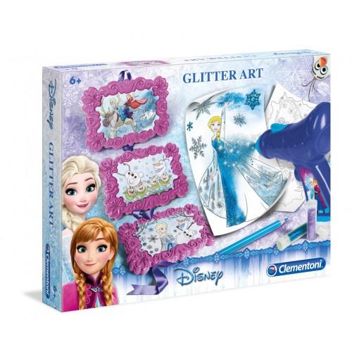 Disney Frozen - Licenze 15184 - Kit Glitter Art