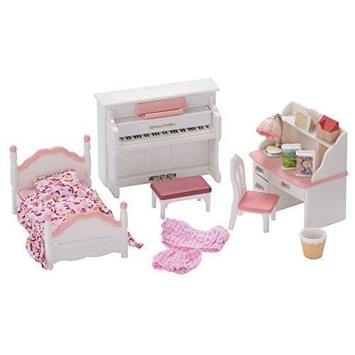Sylvanian Families Set di mobili da cameretta femminuccia per pupazzetti
