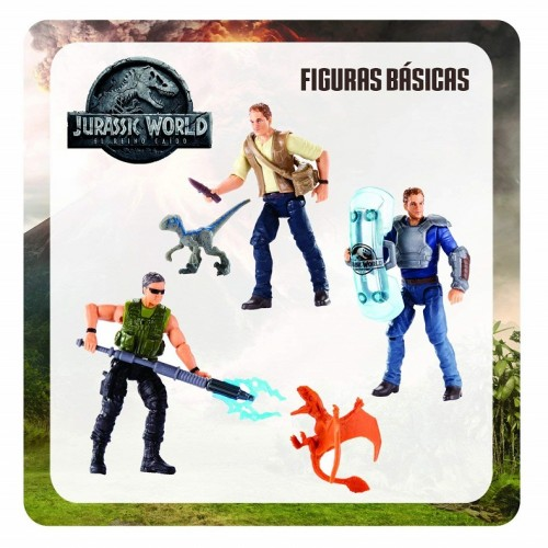 Mattel FMM04 Jurassic World Basic figure Mercenary e Dimorphodon