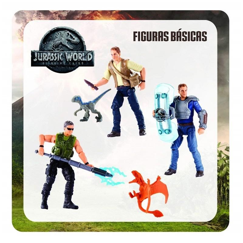 Mattel FMM04 Jurassic World Basic figure Mercenary e Dimorphodon