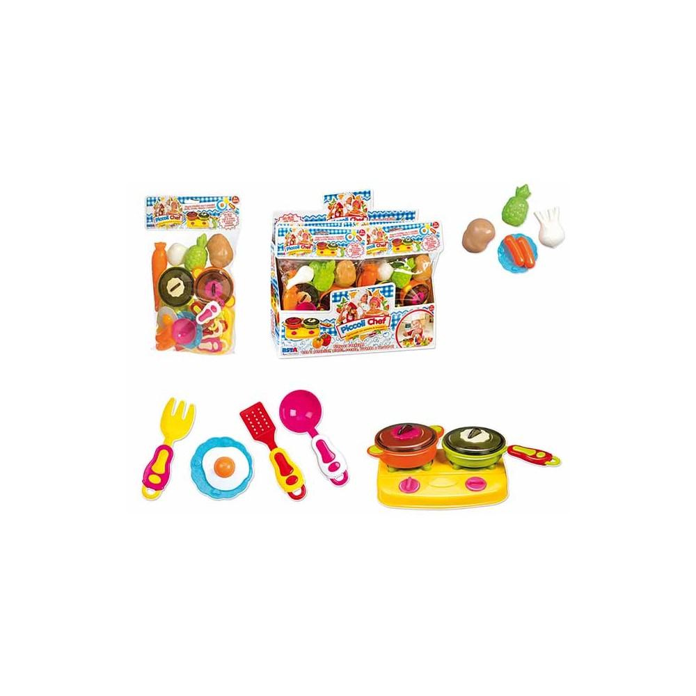 SuperToys Contenitore con Accessori Cucina per Bambini