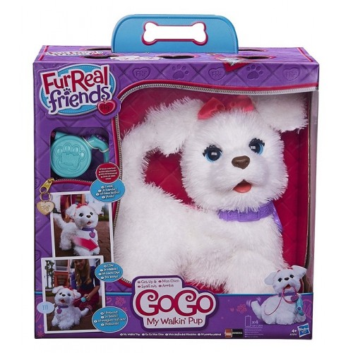 Hasbro FurReal Fur Real Friends A7274EU4  Emotion Pets animale Cane Interattivo Gogo'
