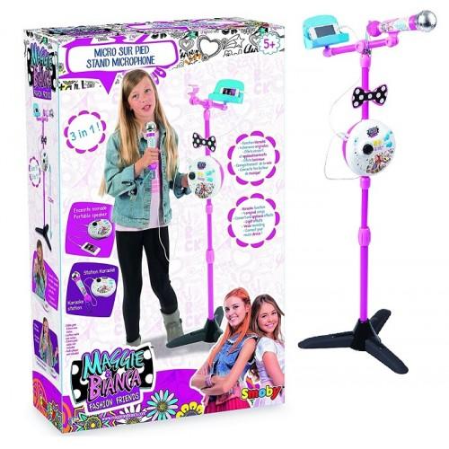 Smoby 7600520116 Maggie & Bianca Microfono Karaoke