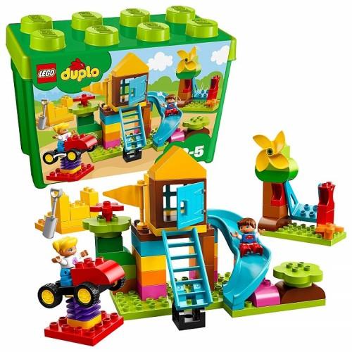Lego 10864 Duplo My First-la Mia Grande Scatola di Mattoncini-Parco Giochi
