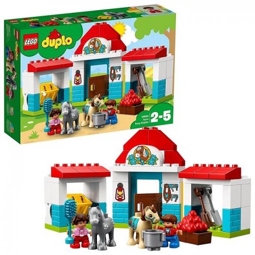 Lego 10868 Duplo Town la Stalla dei Pony