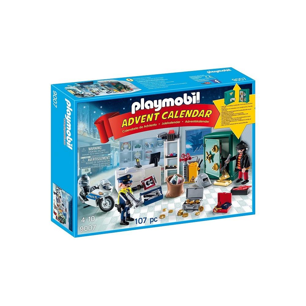 Calendario Avvento Playmobil.Playmobil 9007 Calendario Dell Avvento Caccia Al Ladro Di Gioielli