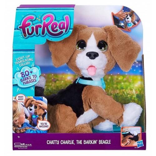 Hasbro B9070103 FurReal Emotion Pets Animale interattivo Cane Charlie