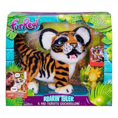 Hasbro B9071103 Fur Real Friends  Tyler Roarin Tigre interattiva