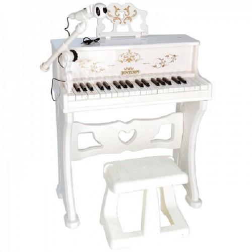 Bontempi 108000 - Pianoforte con Microfono ed Effetti Luminosi Bluetooth