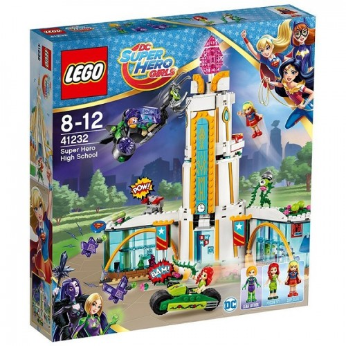 Lego Dc Super Hero Girls 41232 - Set Costruzioni Il Liceo dei Super Eroi