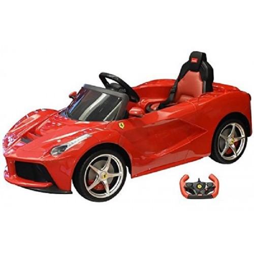 Globo 38348 Auto Elettrica Ferrari  12V con Telecomando parentale
