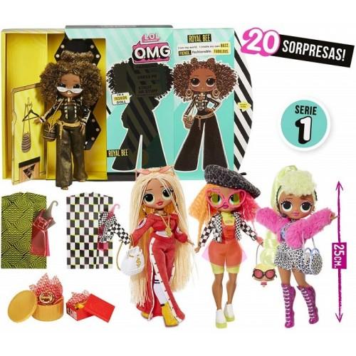 Giochi Preziosi LOL Top Secret Bambola 25 cm Serie 1 Modello a Scelta