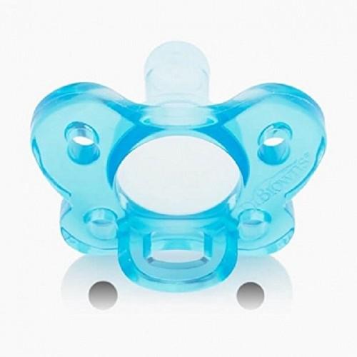 Dr Browns Succhietto in Silicone per i neonati blu