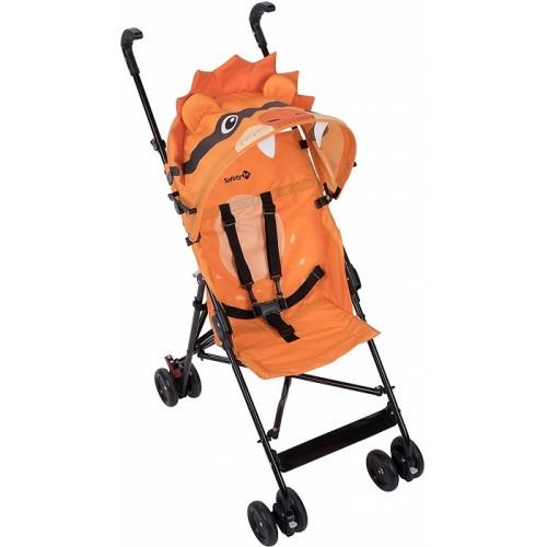 Safety 1st Crazy Peps Passeggino pieghevole leggero con capottina Unisex Bambini Leone Arancione