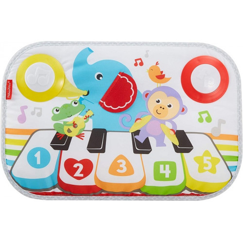 Fisher PriceSmart Stages Kick & Play Piano Tappetino Musicale