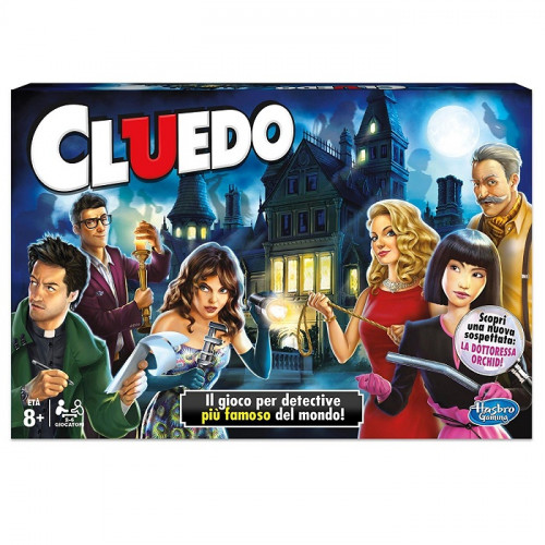 Hasbro Gaming 38712456 Cluedo Versione 2017 Gioco in Scatola