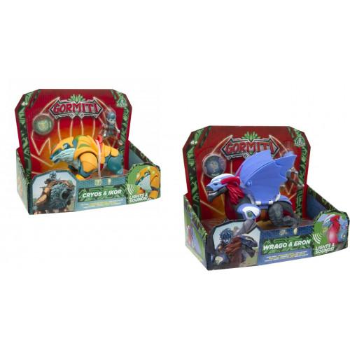 Giochi Preziosi Gormiti Serie 2 Hyperbeasts Deluxe 15 cm Personaggio a Scelta Wrago o Cryos
