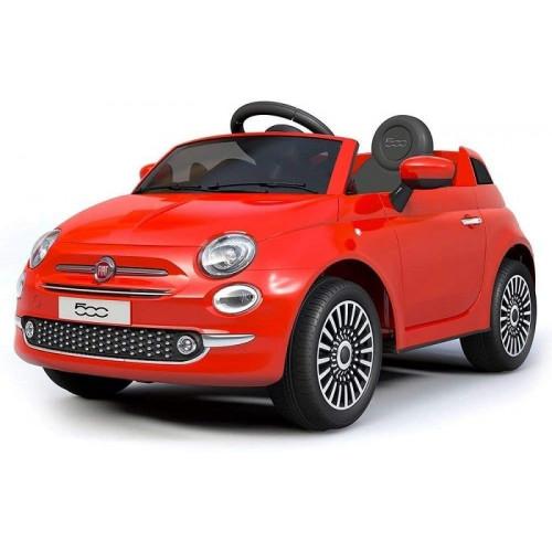 Colibri Auto Elettrica Fiat 500 con Telecomando Parentale Rosso