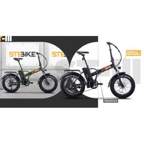 Bici elettrica StepBike ST III Pieghevole con forcella Regolabile
