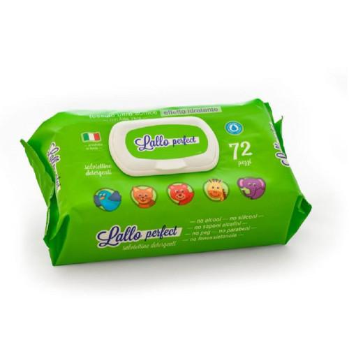 Lallo Perfect Salviettine detergenti Senza Alcool Offerta 6 Confezioni