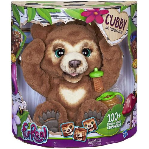 Hasbro E4591EU4 FurReal Cubby il Mio Orsetto Curioso Peluche Interattivo