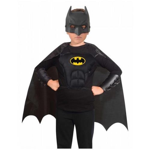 Fiori Paolo DC Batman Set Maschera con Mantello Corpetto e protezione
