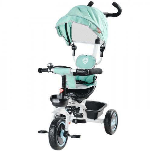 Aziamor Triciclo DesmoTrike 4 in 1 colore Azzurro