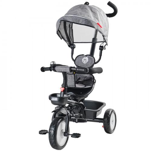 Aziamor Triciclo DesmoTrike 4 in 1 colore Grigio