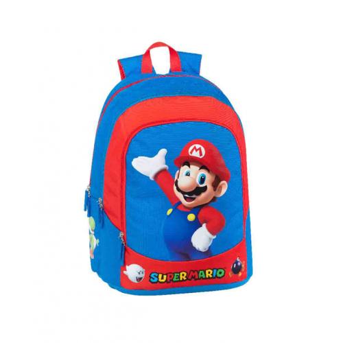 Super Mario Zaino Organizzato 32x43x23 cm