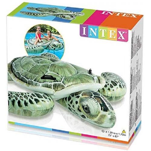 Intex Tartaruga gonfiabile Mare o Piscina 191x171cm