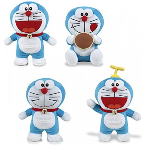 Pts Peluche Doraemon 45 cm Modelli a Scelta