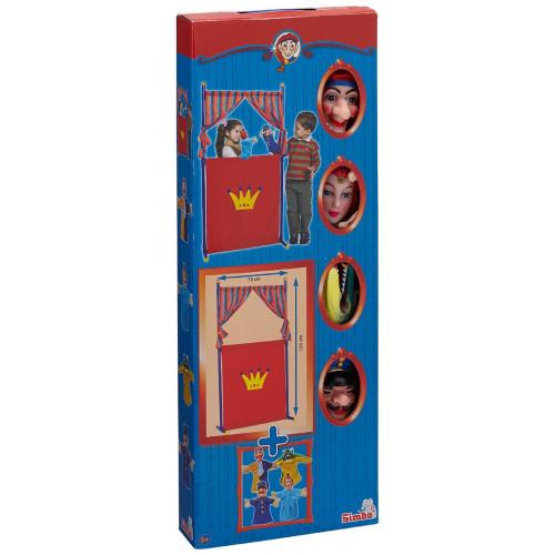 SIMBA 104586783 - Teatro con 4 Marionette