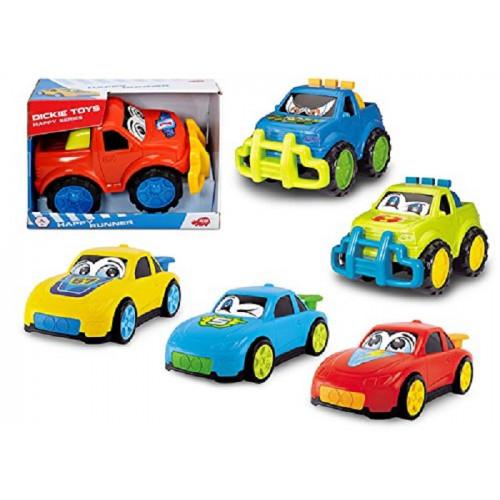 Dickie Toys 203814002 Happy Runner, veicolo per bambini 27 cm