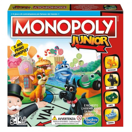 Hasbro Gaming A6984456 Monopoly Junior