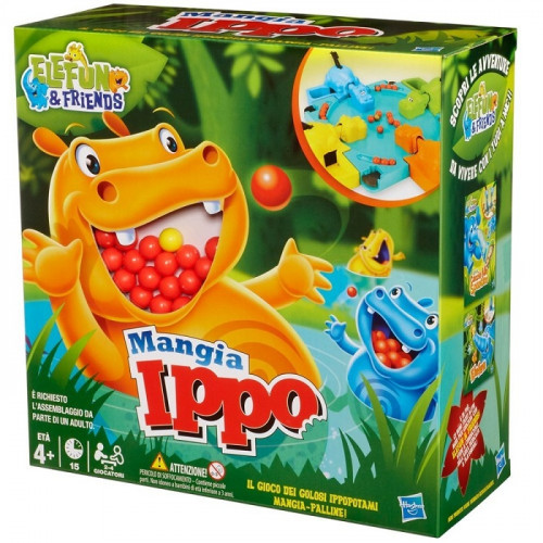 Hasbro 9893 Mangia Ippo Gioco in Scatola