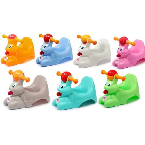 Ok Baby Spidy Vasino per Bambini con Seduta Ergonomica a Forma di Coniglio