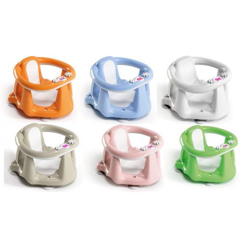Ok Baby Flipper Evolution Anello con Seduta in Gomma Antiscivolo 6-15 Mesi (13 kg) Colori A scelta