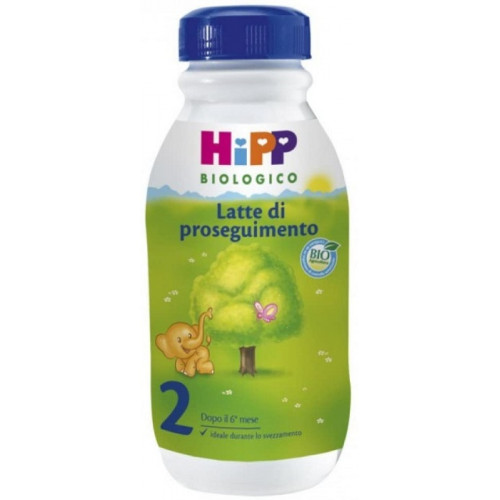 Hipp 2 Latte Di Proseguimento Liquido 6 confezioni da 470 ml