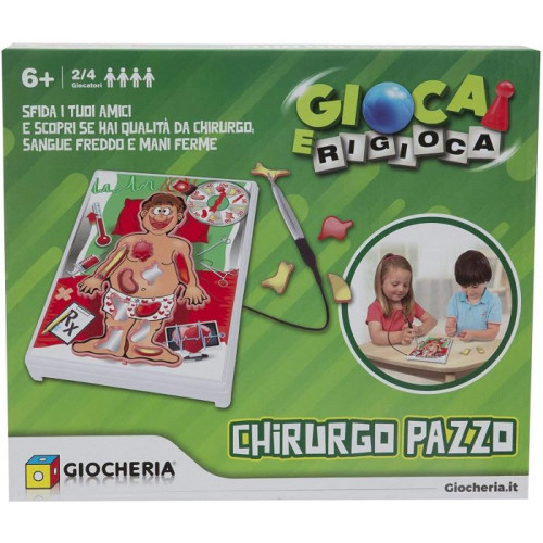 Giocheria Gioca e Rigioca Chirurgo Pazzo