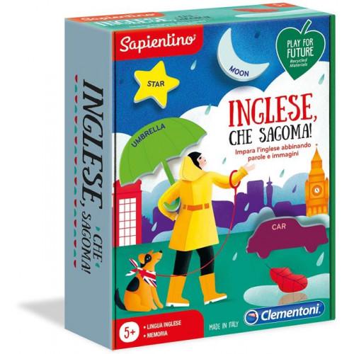 Clementoni Sapientino L'Emozione di Imparare Inglese Che sagoma Made in Italy Play for Future