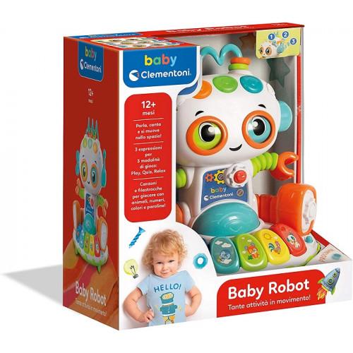 Clementoni Baby Robot Gioco elettronico parlante 12 Mesi+