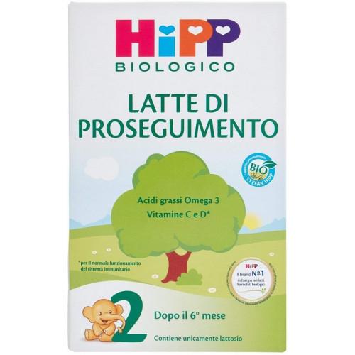 Hipp Latte 2 Polvere Biologico Per Lattanti Confezione da 600 g