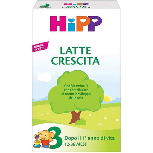 Hipp Latte 3 Polvere Biologico Per Lattanti Confezione da 500 g