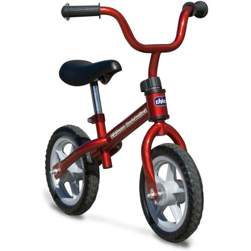 Chicco Bicicletta Bambini Senza Pedali 2-5 Anni Balance Bike Rosso