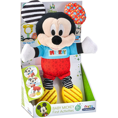 Clementoni Disney Baby Mickey First Activities Peluche