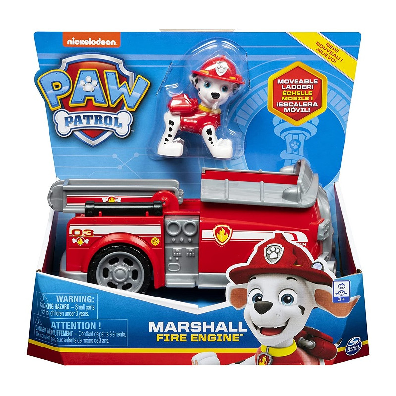 Spin Master Paw Patrol camion dei pompieri di Marshall