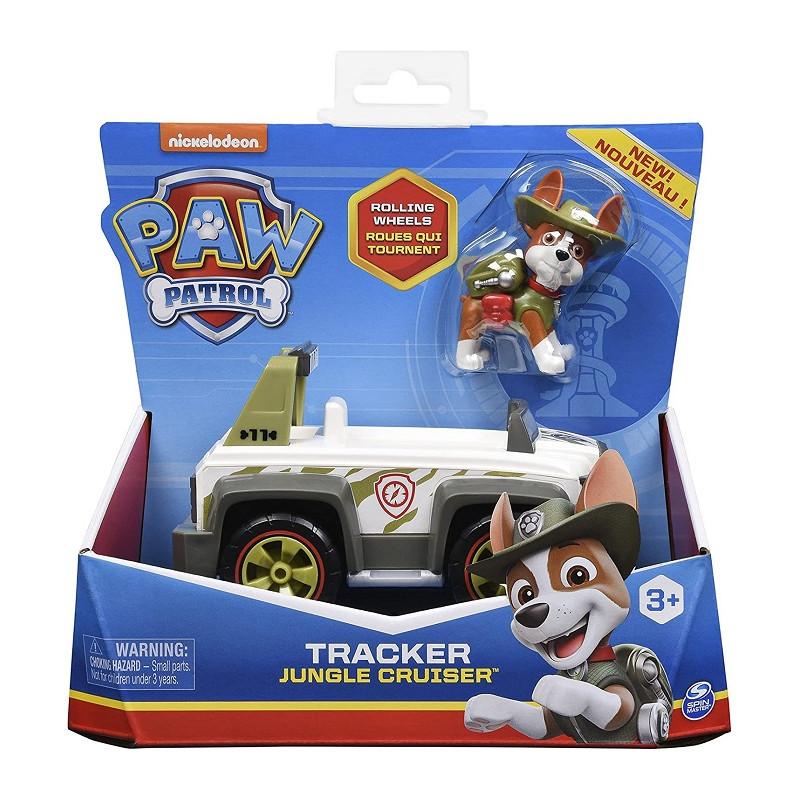 Spin Master Paw Patrol veicolo Jungle Cruiser di Tracker con Personaggio